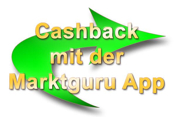 Cashback mit der Marktguru App